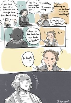 Considering there's literally no water on Jakku i dont blame her