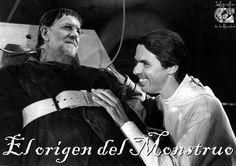 @marianorajoy , el origen del monstruo #crisis #humor #nosrobanlacartera