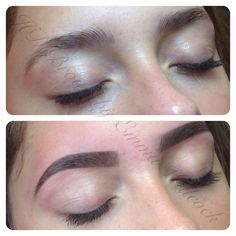 Brows to die for. HD Brows before & after by MASTER Stylist Emma Willcock.