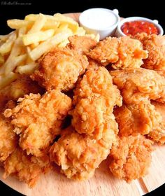 B Food, Love Food, Food Porn, Mcdonalds Recipes, Fast Food, Fried Chicken Recipes, Kfc, Food Design, Street Food