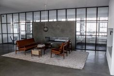 Cool Concrete Dining