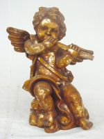 Angel Standing with Flute