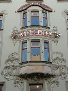 Hotel Central, Prague.