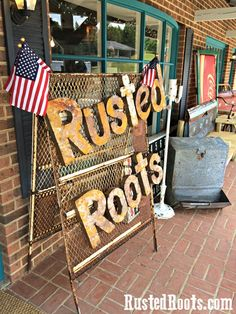 Rusted Roots Junk Shop Tour: June 2015