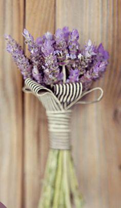 deco love: lavanda bouquet