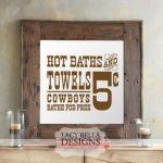 "Bathroom Design- ""Hot Towels and Baths"""