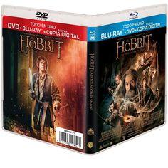 Carátulas españolas del DVD y Blu-ray de La Desolación de Smaug