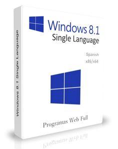 Windows 8.1 Single Language