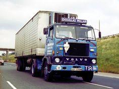 Vintage Trucks, Retro Vintage, Old Lorries, Old Wagons, Road Transport, Volvo Trucks, Commercial Vehicle, Classic Trucks, Buses