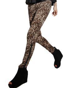 Leopard Jeggings-shop trends by chicnova