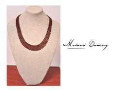 Collar/Necklace TIKA #shine #style #fashion #collection #leather #maisondomecq #woman