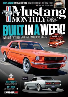 Mustang Monthly by TEN: The Enthusiast Network. MUSTANG MONTHLY has a specialized editorial package that covers everything from do-it-yourself recommendations to the history of Mustang. It is the only magazine on the market that caters strictly to the Mustang hobby, from vintage to late-model vehicles. • Comprehensive Tech Articles • The Hottest Industry News • Latest Products • Complete Racing and Events Coverage! Kindle Magazines are fully downloaded onto your Kindle so you can read…