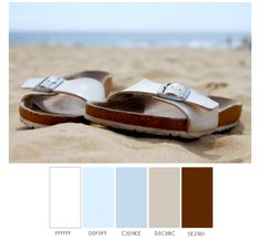 Tons of beautiful beach weather. Beach Color Schemes, Beach Color Palettes, Beachy Colors, Beach Weather, Vintage Trailers, Beach Themes, Summer Days, Color Inspiration, Paint Colors