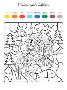 Home Decorating Style 2020 for Coloriage Paysage Hiver, you can see Coloriage Paysage Hiver and more pictures for Home Interior Designing 2020 at Coloriage Kids. Christmas Color By Number, Christmas Colors, Kids Christmas, Christmas Crafts, Christmas Worksheets, Christmas Activities, Activities For Kids, Crafts For Kids, Colouring Pages