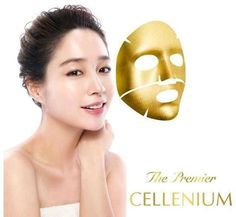 [ISA KNOX] Golden Therapy Mask 25g x 1 piece Made in Korea The Premier Cellenium #ISAKNOX