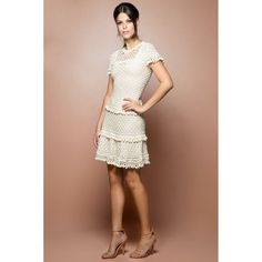 US$ 3,490.00 - Off Marchesi Crochet Dress - Vanessa Montoro USA - vanessamontorolojausa