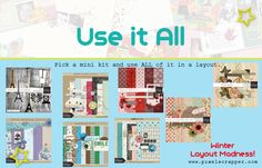 WLM 2015: Use it All | Pixel Scrapper digital scrapbooking forums
