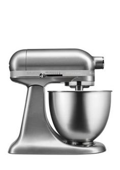 KitchenAid Contour Silver Artisan Mini 3.5 Quart Stand Mixer KSM3311X