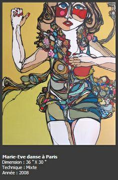 Adèle Blais - peintre