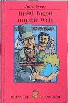 In 80 Tagen um die Welt von Jules Verne Jules Verne, Baseball Cards, Reading, Sports, World, Hs Sports, Excercise, Reading Books, Sport