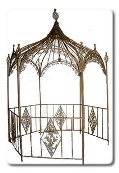 Rod Iron Arabian Gazebo Retail: $2199.99 - Home Garden and Patio Furniture, Decor and Accents