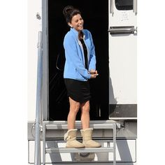 "Eva Longoria laughed on the set of ""Desperate Housewives"""