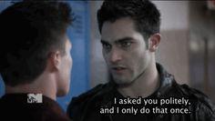 Derek from Teen Wolf
