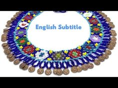 Necklace Making Huichol – Necklace Tecnica Huichol Tutorial - DIY Schmuck Beaded Necklace Patterns, Beaded Bracelets Tutorial, Crochet Necklace, Beaded Chocker, Beaded Collar, How To Make Rings, How To Make Necklaces, Diy Schmuck, Schmuck Design