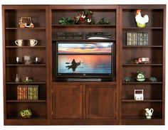 Bookcases - Lancaster Legacy - Truewood Furniture