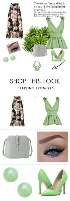 """set 65"" by nudzi-ded ❤ liked on Polyvore featuring Miss Selfridge, GUESS and Kenneth Jay Lane"