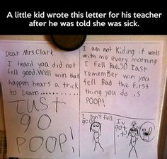 Haha lol, the minds of little children, how I love them!!