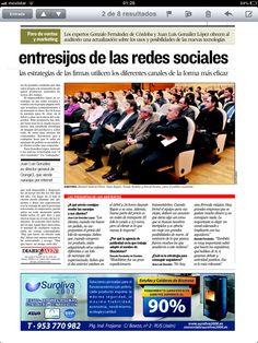 Asistentes a las Jornadas en la Feria de Exposiciones de Jaén