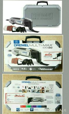 15% OFF! NEW DREMEL MM30-01 MULTI-MAX TOOL OSCILLATING SAW TOOL KIT WITH WHEELS & CASE.. CONTACT ME FOR PROMO PRICE http://stores.ebay.com/philiaslucki5