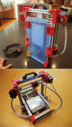 Oh my....  This foldable 3d printer has geek love written all over it.  #dragonworksstudio