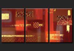 Cuadros Abstractos Modernos En Acrilico Texturados-relieves ...