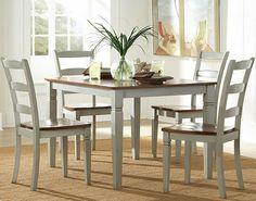 Antik Weiße Esstisch Set - Lounge Sofa Überprüfen Sie mehr unter http://loungemobel.com/57595/antik-weisse-esstisch-set/