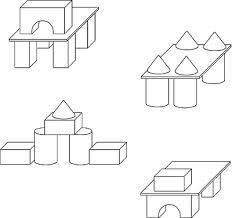 схемы для конструирования в детском саду - Поиск в Google Diy And Crafts, Floor Plans, Google