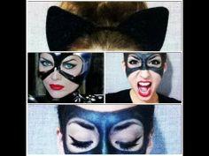 Catwoman-Inspired Mask Makeup Tutorial - Superhero Series