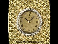 CORUM 18K Y/G CHAMPAGNE DIAL DIAMOND BEZEL VINTAGE LADIES WRISTWATCH http://www.watchcentre.com/product/corum-18k-y-g-champagne-dial-diamond-bezel-vintage-ladies-wristwatch/6282