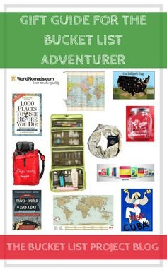 Gift Guide for the Bucket List Adventurer - The Bucket List Project