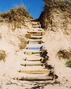 French Beach Steps