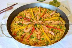 Paella de frutos do mar | Receitas e Temperos