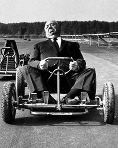 Alfred hitchcock driving himself crazy
