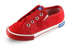 Buy Sneakers for Boys Baby - Footwear - Moc Slip Red&White-Casual Boys Sneakers Online India | The Little Shopper
