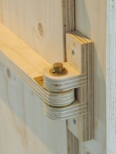 Plywood Hinge