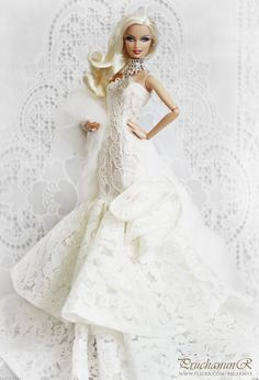 Monique Lhuillier Bride Barbie Doll