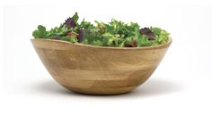 Lipper International Oak Finish Small Rice Bowl Set of 4, Brown, 323-4