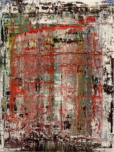 Gerhard Richter » Art » Paintings » Abstracts » Abstract Painting » 907-12 #abstractart