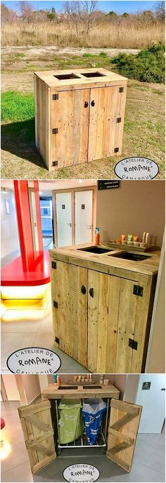 Let's make this wood pallet sink furniture as part of your kitchen or the bathroom areas right now because it would simply add a classy flavor in your house. This wood pallet ideal sink creation is so awesome in designs as it has been bringing modern touch on the whole.
