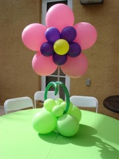 Balloon Centerpiece